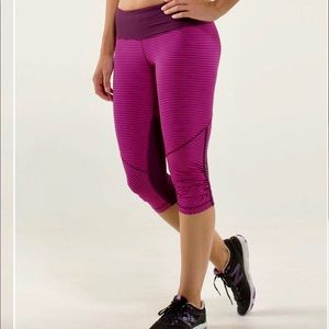Lululemon Run: For Your Life Crop size 2